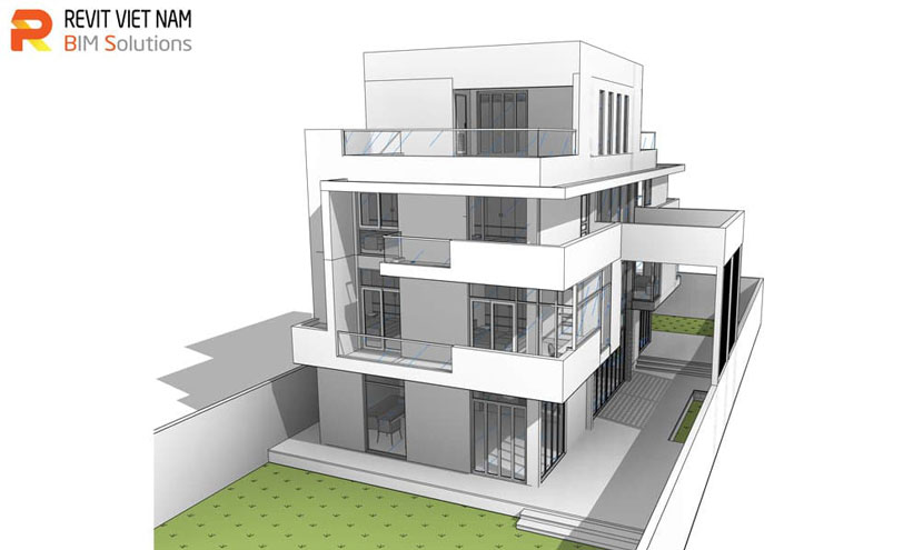 Học Revit Architecture